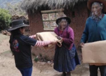 Cuzco: LATET y Ayudando Abrigando se unen por el friaje